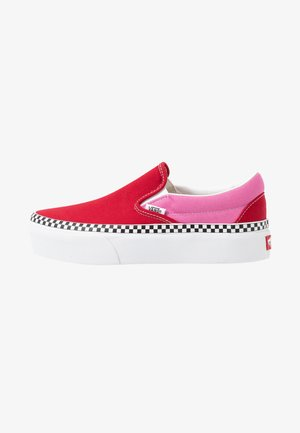 CLASSIC - Mocassins - chili pepper/fuchsia pink