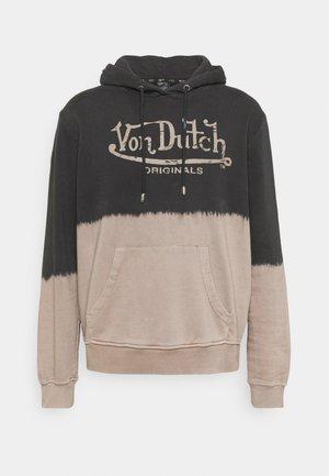 MAVIN BLEACH LOGO HOODIE - Sweatshirt - black