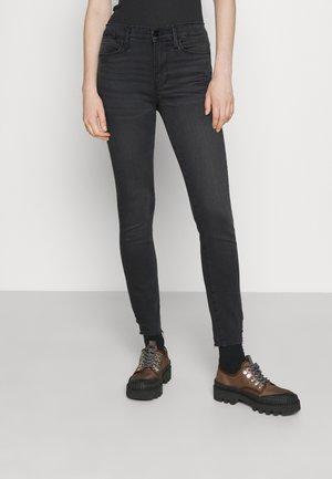 LE HIGH  - Jeans Skinny Fit - black denim