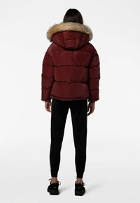 SIKSILK - Winterjas - burgundy - 2