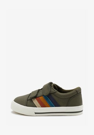STRIPE STRAP TOUCH FASTENING SHOES - Trainers - green