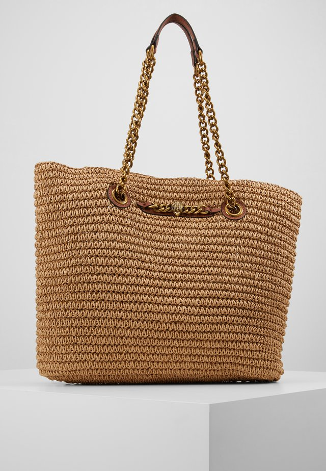 CHELSEA RAFFIA TOTE - Tote bag - beige