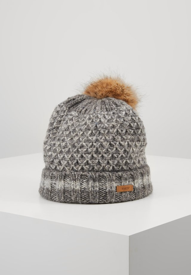 HOSTA BEANIE - Czapka - dark heather