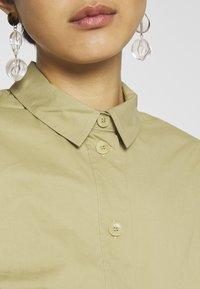 Samsøe Samsøe - BARBARA SHORT DRESS - Shirt dress - olive grey - 5