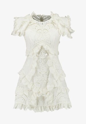 HONEY SUCKLE MINI DRESS - Sukienka koktajlowa - ivory