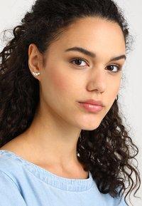 Pilgrim - EARRINGS LEAH - Earrings - silver-coloured - 1