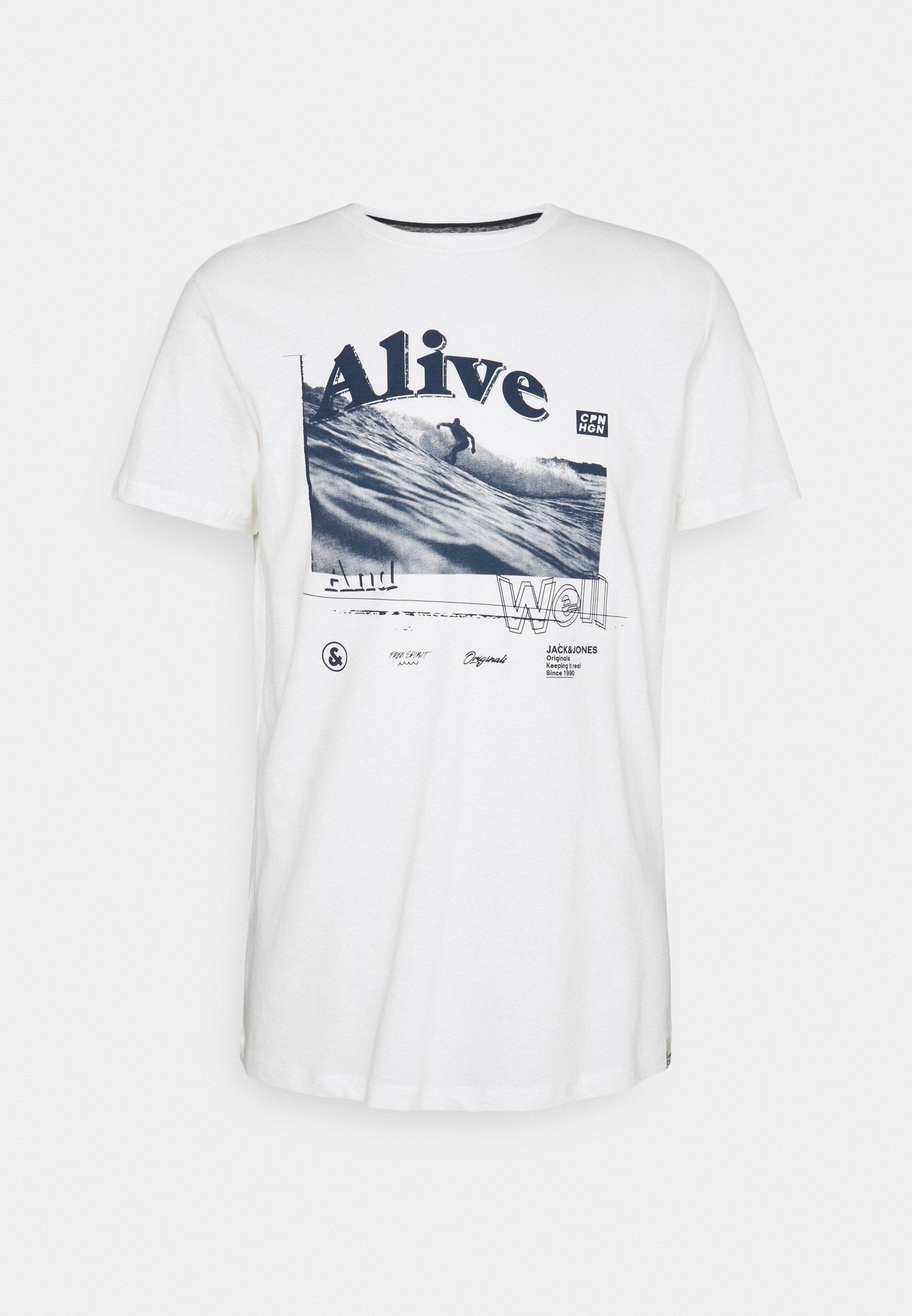 Men JORGOODTIMES TEE CREW NECK - Print T-shirt