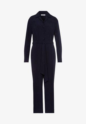 MIT KNOPFLEISTE - Jumpsuit - navy blue