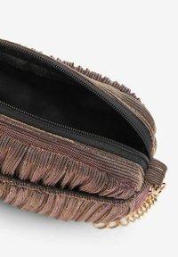 Name it - Across body bag - silver/light brown - 3