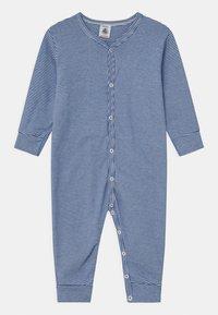 Petit Bateau - DORS BIEN SANS PIEDS - Pyjamas - white/dark blue - 0