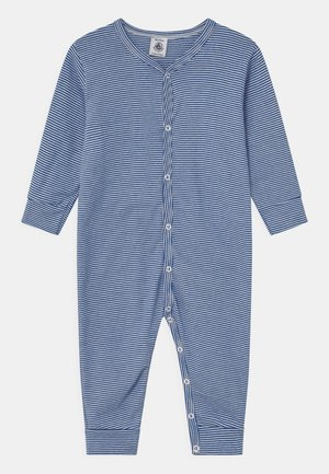 DORS BIEN SANS PIEDS - Pyjamas - white/dark blue