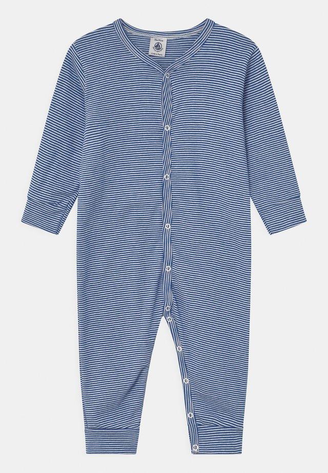 DORS BIEN SANS PIEDS - Pyjama - white/dark blue