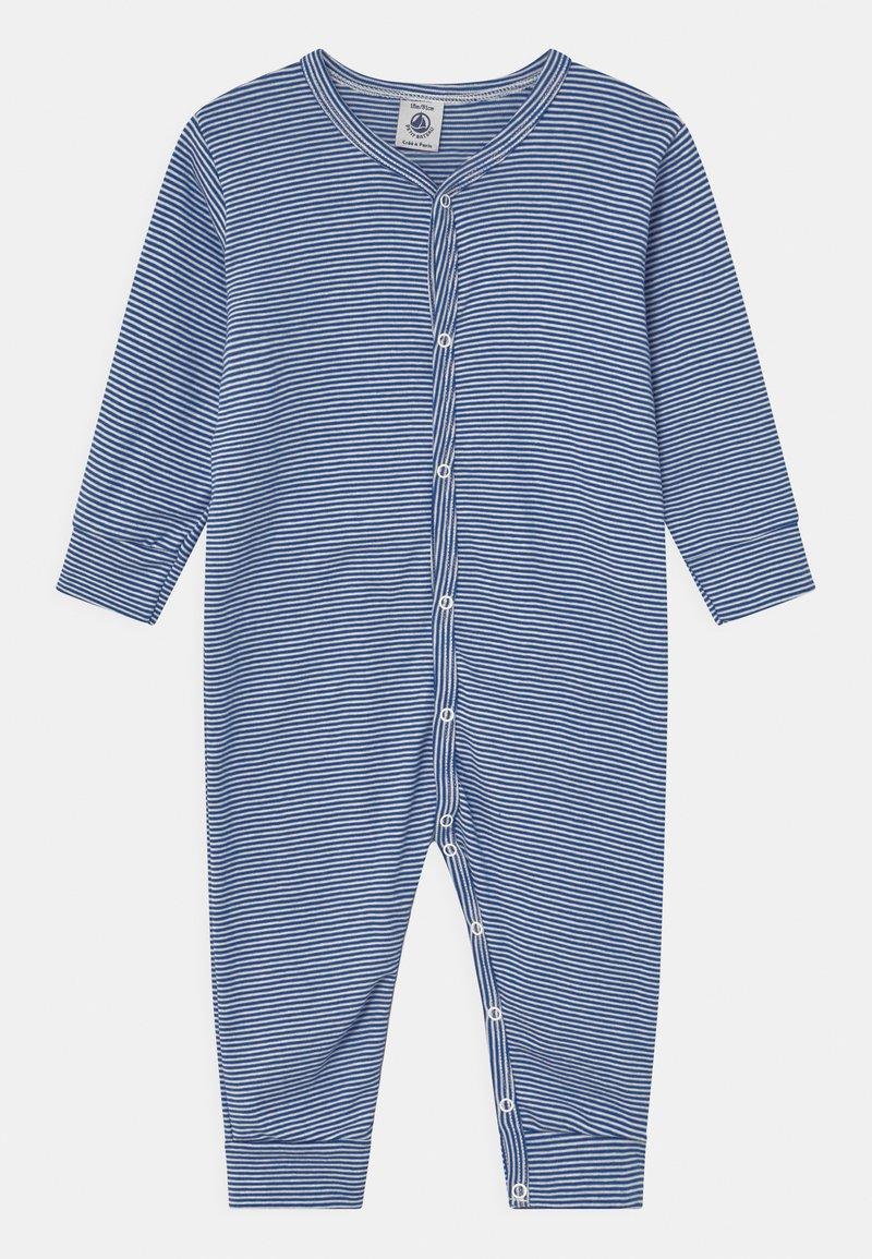 Petit Bateau - DORS BIEN SANS PIEDS - Pyjamas - white/dark blue