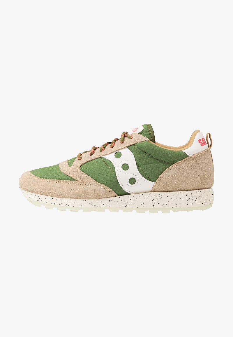 Saucony - JAZZ ORIGINAL OUTDOOR - Sneaker low - brown/green