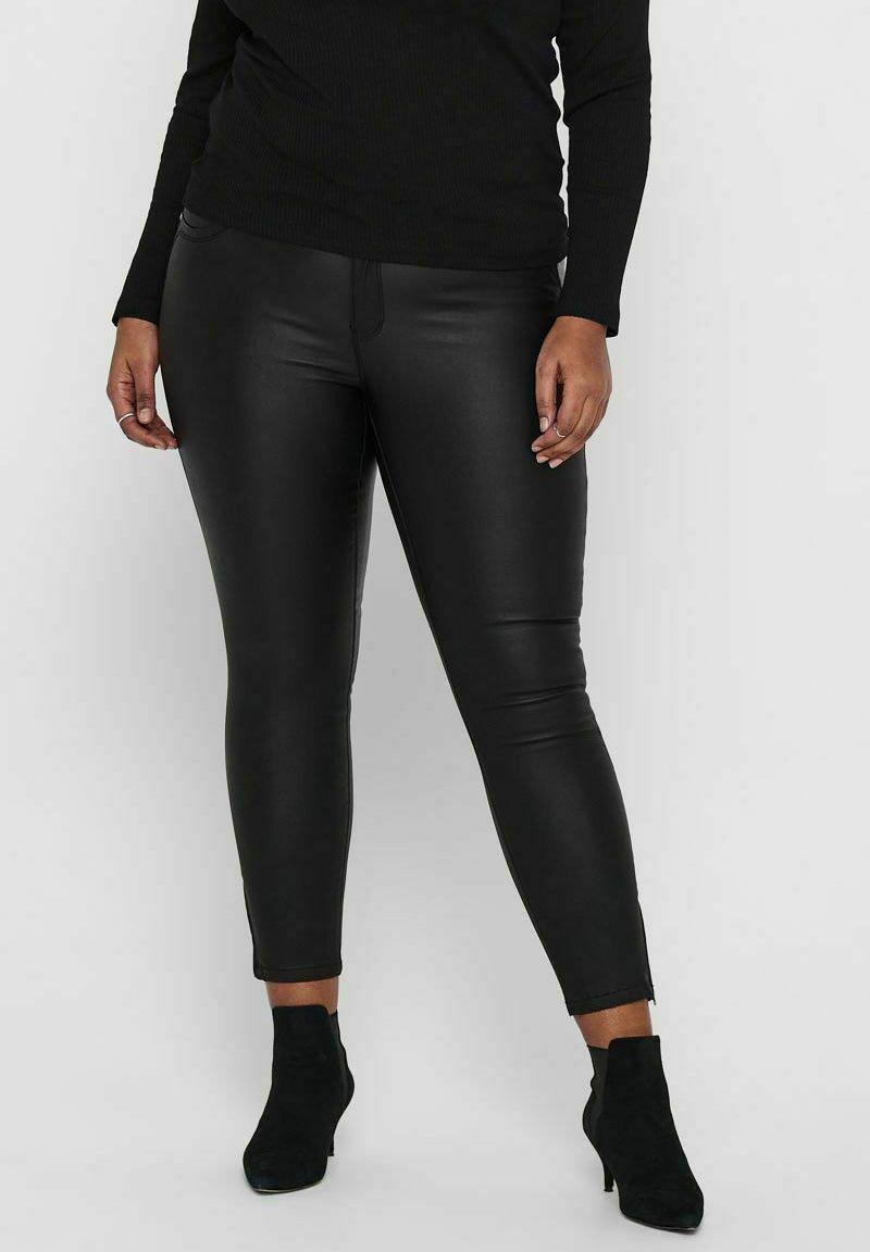 Damen SKINNY FIT CURVY CARKARLA ETERNAL COATED - Jeans Skinny Fit