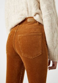 PULL&BEAR - Trousers - brown - 5