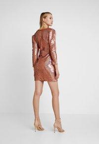 TFNC - LEANIRA DRESS - Robe de soirée - rose gold - 2