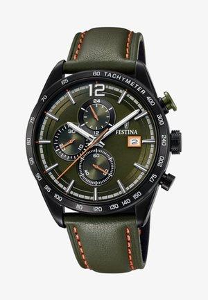Chronograph watch - green
