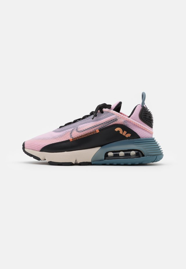 AIR MAX 2090 - Sneakers basse - light arctic pink/black/ozone blue/healing orange/metallic copper/light orewood brown