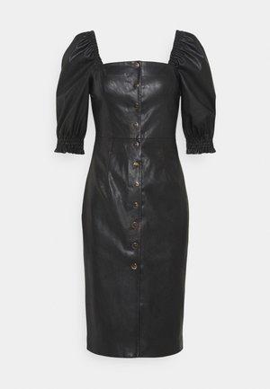 LUNATICO ABITO - Shift dress - black