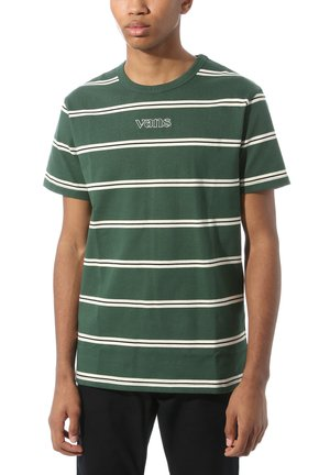 MN SIXTY SIXERS STRIPE - Basic T-shirt - pine needle