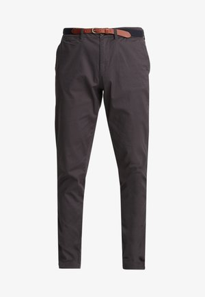 SLHSLIM YARD PANTS - Chinos - phantom