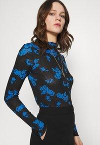 Lindex - LINN - Long sleeved top - blue - 4