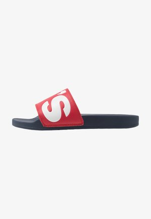 JUNE - Sandalias planas - regular red
