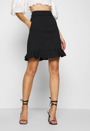 CIKADE - A-line skirt - black