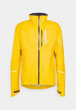FJØRÅ DRI1 JACKET - Trainingsjacke - lemon chrome