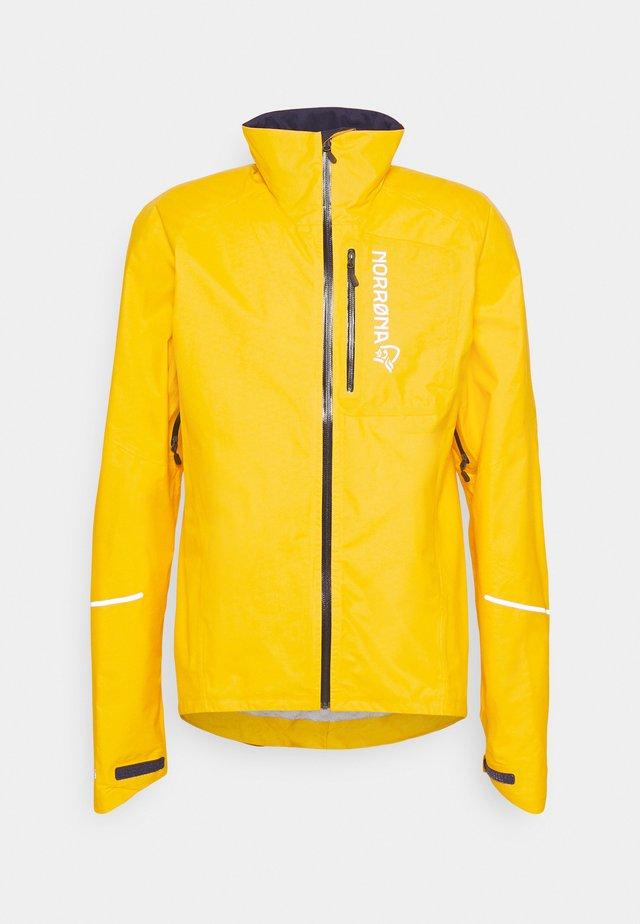 FJØRÅ DRI1 JACKET - Training jacket - lemon chrome