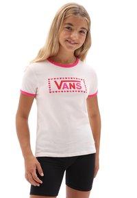 Vans - GR LOLA - Print T-shirt - vans cool pink/fchsiaprpl - 0