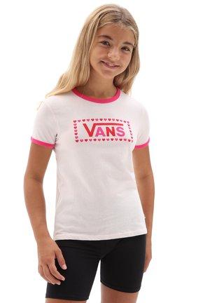 GR LOLA - Print T-shirt - vans cool pink/fchsiaprpl