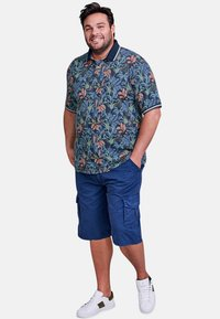 LERROS - FLOWER - Polo shirt - vintage blue - 1