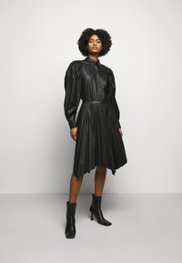DESIGNERS REMIX - MARIE PLEATED SKIRT - Jupe plissée - black - 1
