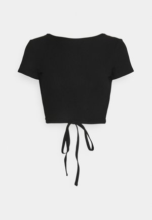 RIVER TOP - T-shirt basic - black