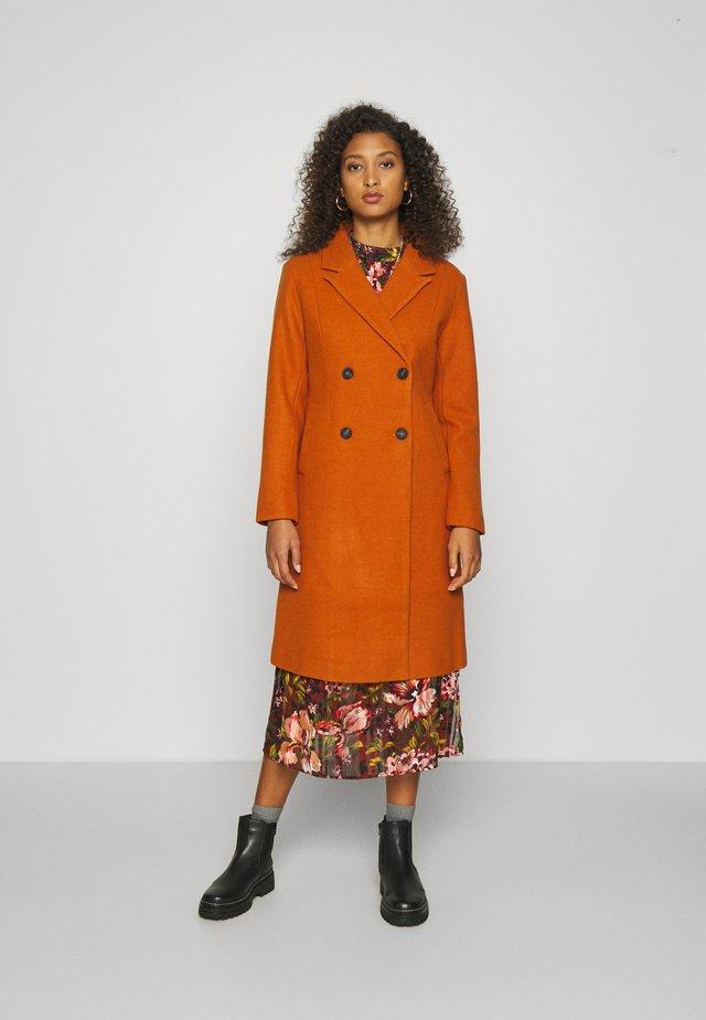 ONLLOUISA COAT - Classic coat - pumpkin spice
