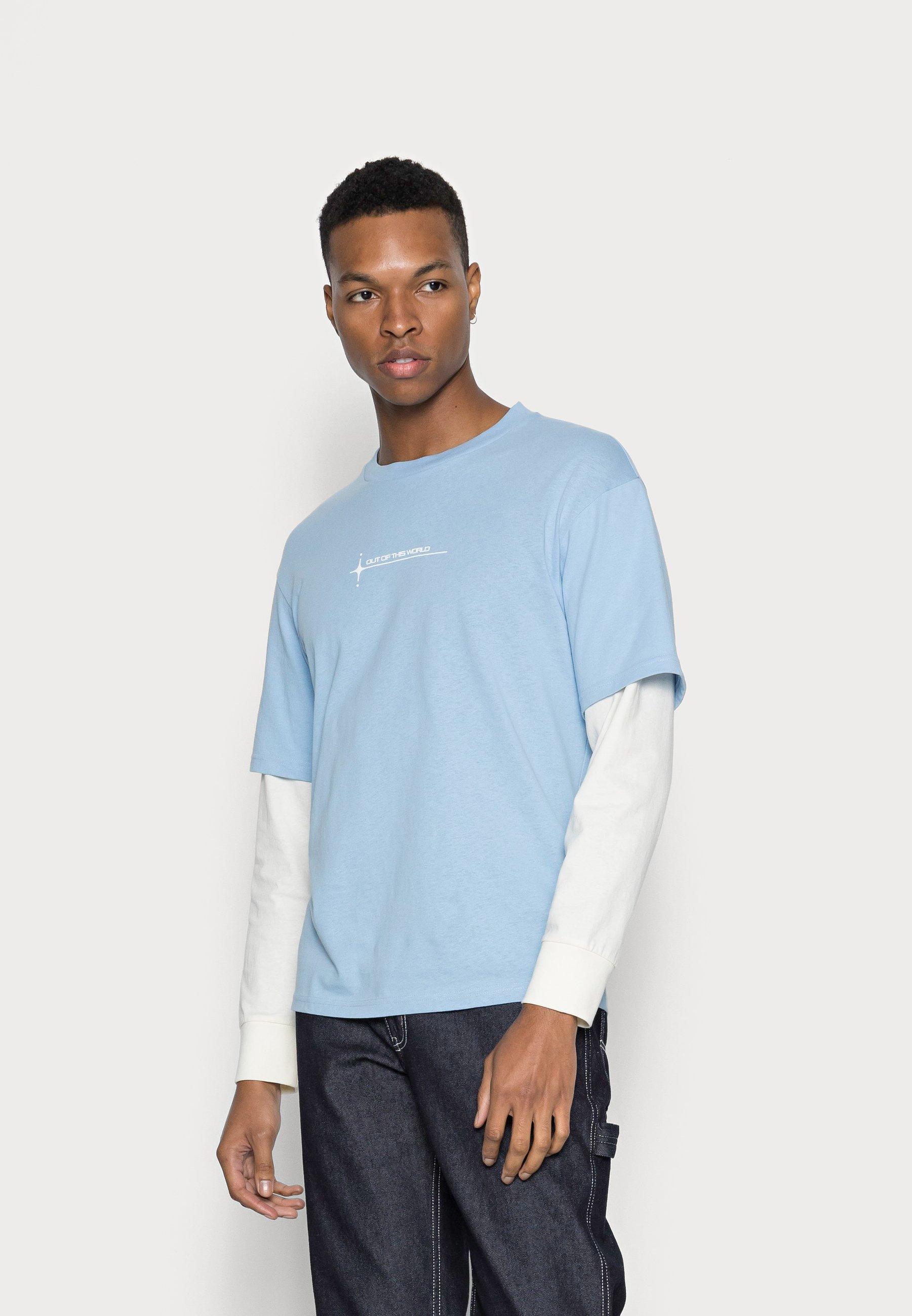 Men JJWORLD TEE - Long sleeved top
