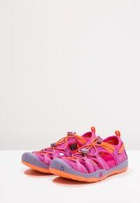 Keen - MOXIE  - Walking sandals - purple wine/nasturtium - 3