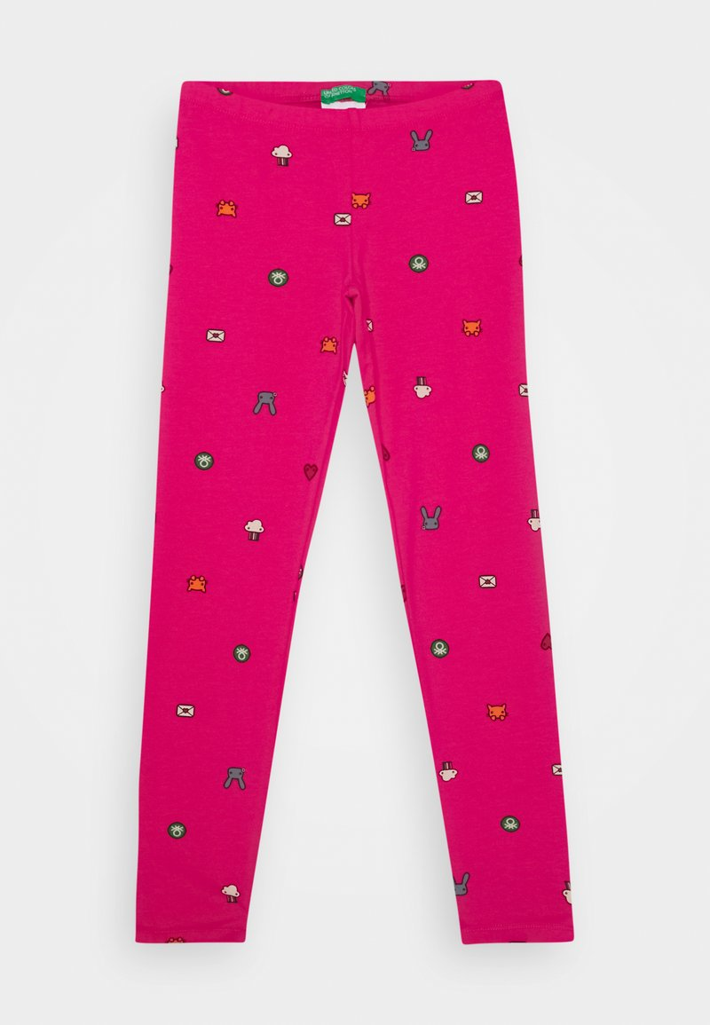 Benetton - FUNZIONE GIRL - Leggings - Trousers - pink