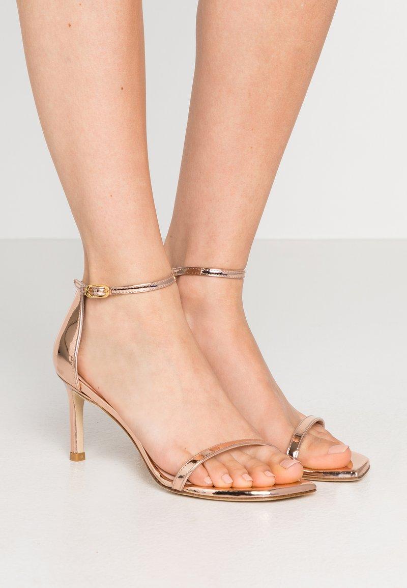 Stuart Weitzman - AMELINA  - Sandals - rose gold