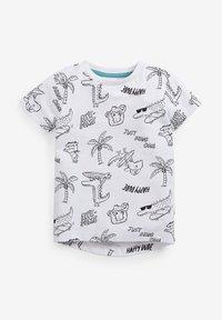 Next - 3 PACK - Print T-shirt - multi-coloured - 1