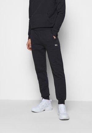 BOX LOGO PANTS - Pantaloni sportivi - black