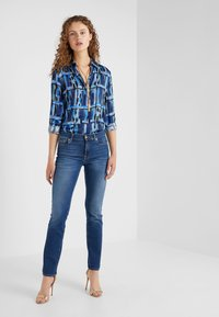 7 for all mankind - BAIR DUCHESS - Straight leg jeans - blue denim - 1