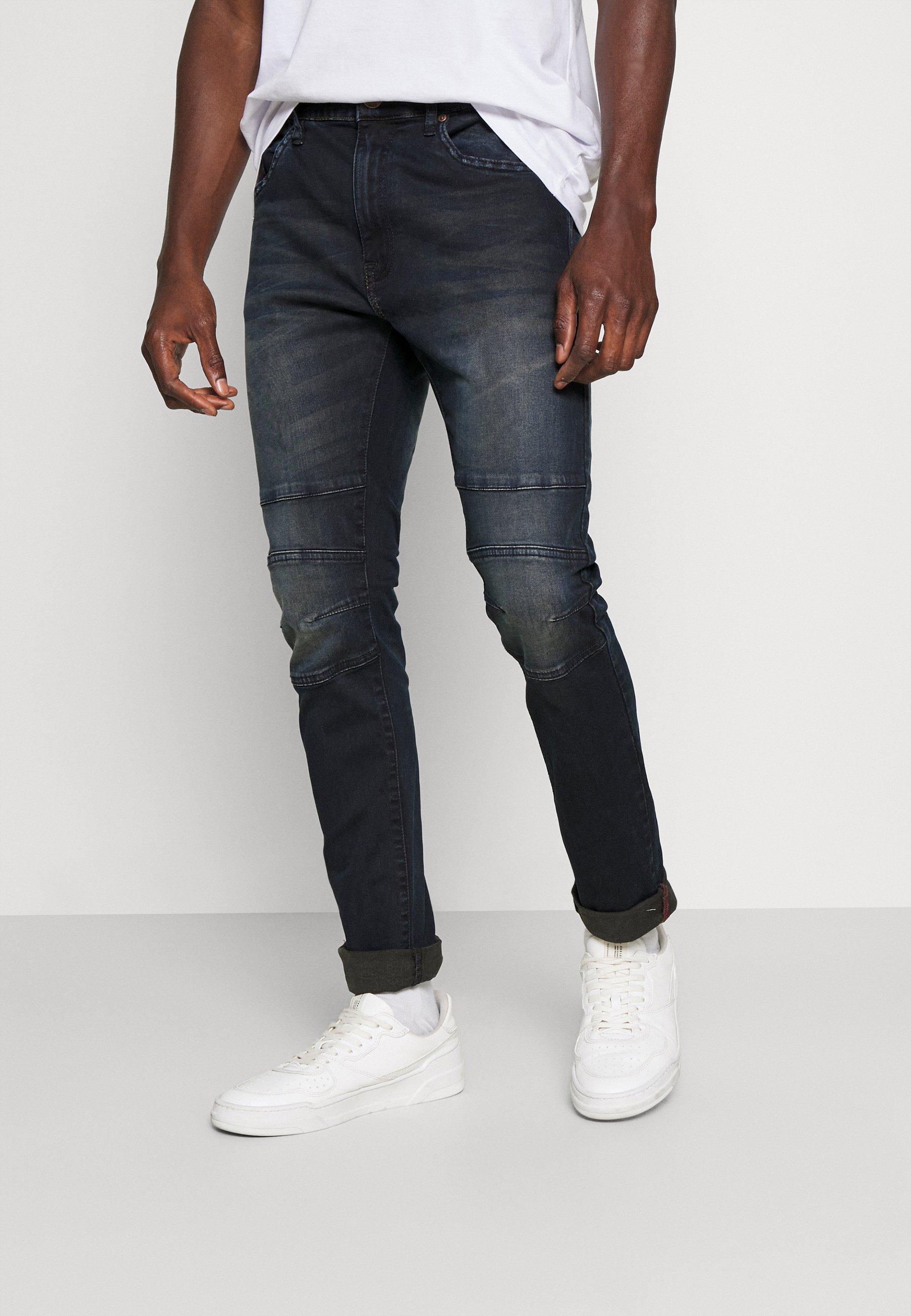 Uomo GLENN - Jeans a sigaretta