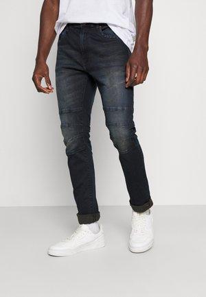 GLENN - Straight leg -farkut - grey blue