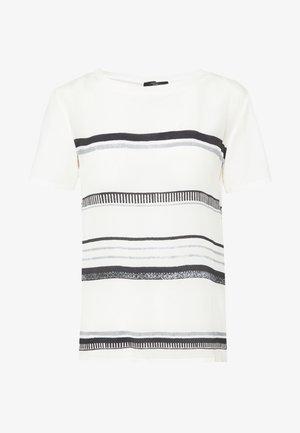 ALASKA - T-shirts med print - weiss