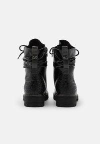 Tamaris - BOOTS - Šněrovací kotníkové boty - black - 3