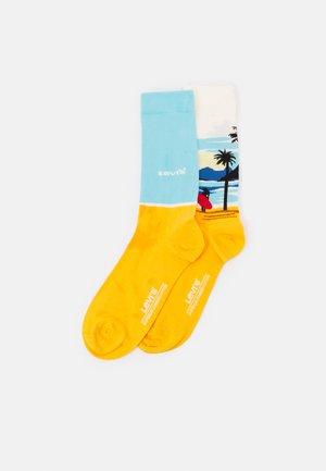 SURF SCENIC REGULAR CUT 2 PACK - Sukat - blue/yellow