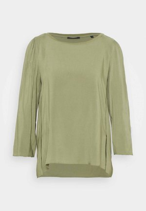 THREE QUATER SLEEVE - Blouse - dried sage